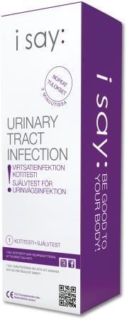 i say: Urinary Tract Infection test 1 kpl